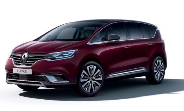 2021 Renault Espace with new exterior layout