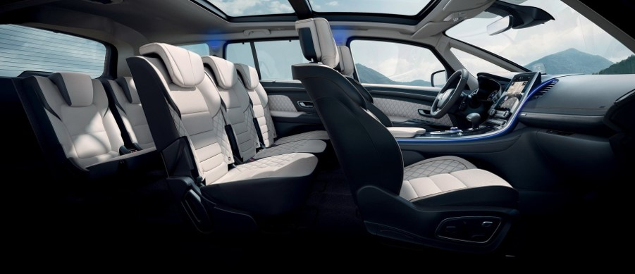 2021 Renault Espace with new interior layout
