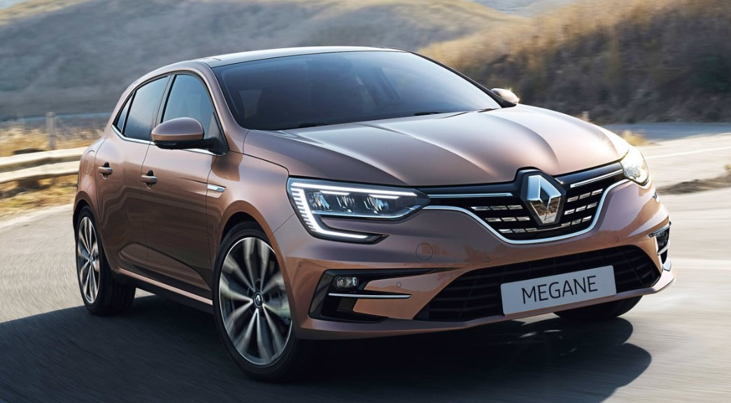 2021 Renault Megane with new exterior layout