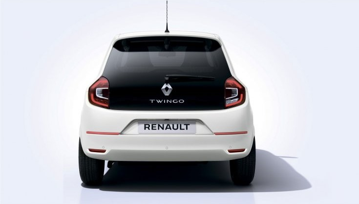 2021 Renault Twingo Z.E with new exterior layout