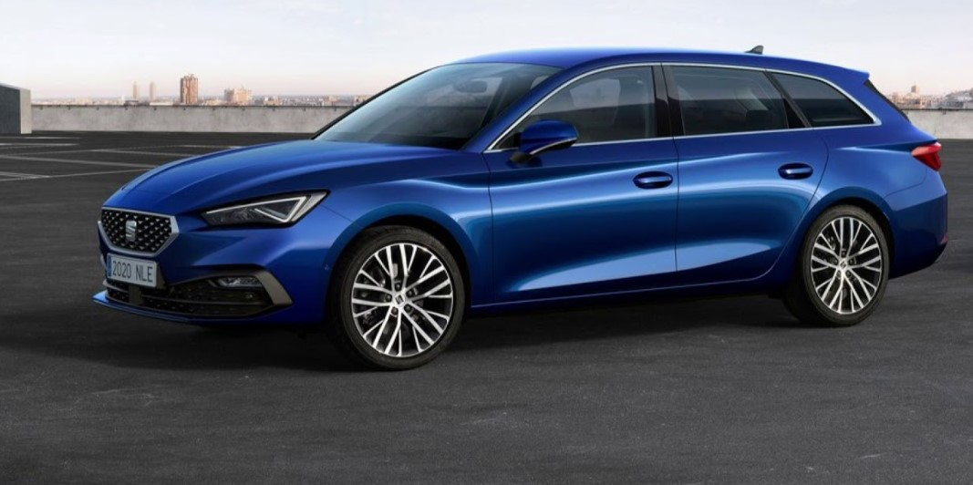 2021 Seat Leon with new exterior layout