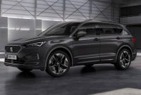 2021 Seat Tarraco with new exterior layout