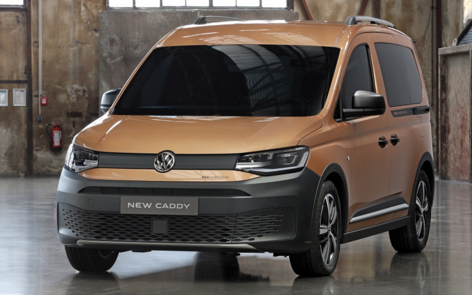2021 Volkswagen Caddy Powered with new engine