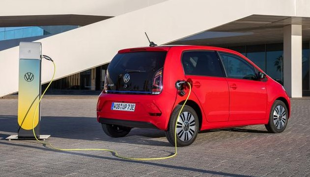 2021 Volkswagen e-Up Powered with electric engine