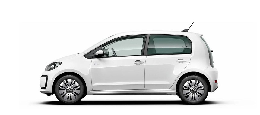 2021 Volkswagen e-Up with new exterior layout