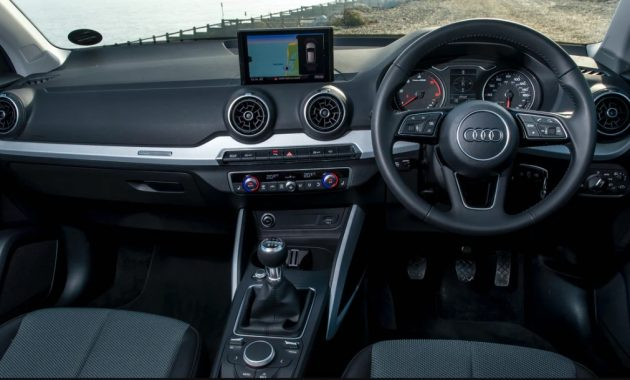 2022 Audi Q2 Dashboard and Infotainment Features