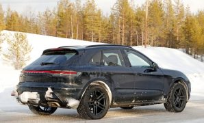 2022 Porsche Macan Powered with Electric Engine