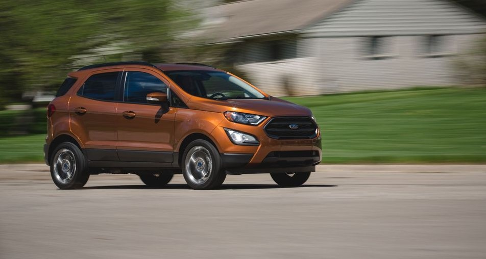 2021 Ford EcoSport New Engine System