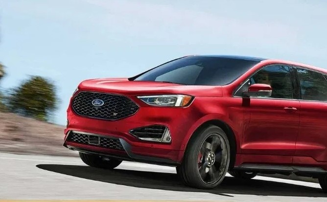 2021 Ford Edge Front View
