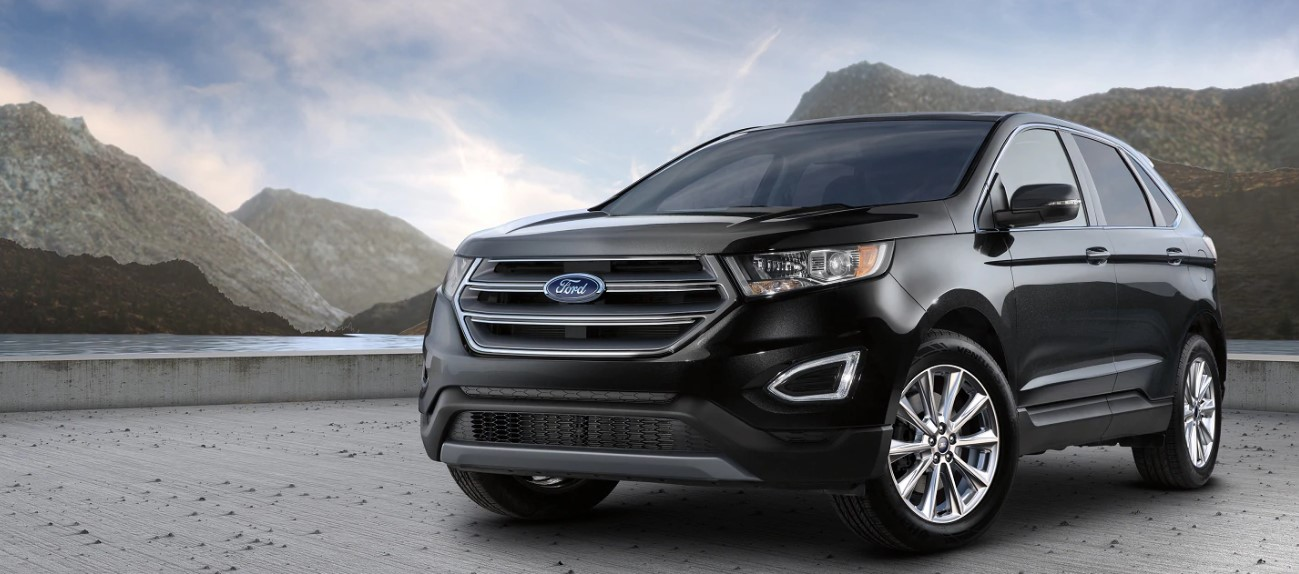 2021 Ford Edge with new exterior layout