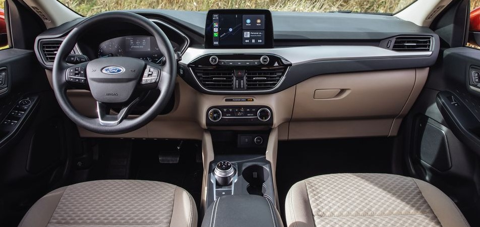 2021 Ford Escape Dashboard and Infotainment features