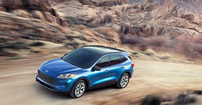 2021 Ford Escape Powered with new engine system
