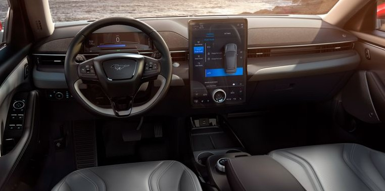 2021 Ford Mustang Mach-E Dashboard and Infotainment Features