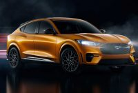 2021 Ford Mustang Mach-E with new exterior layout