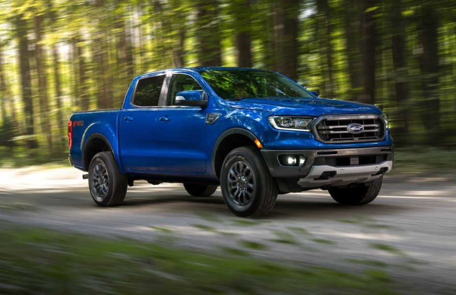 2021 Ford Ranger Powered with new engine system