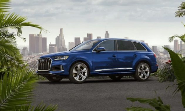 2021 Audi Q7 with new exterior layout