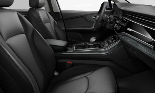2021 Audi Q7 with new interior layout