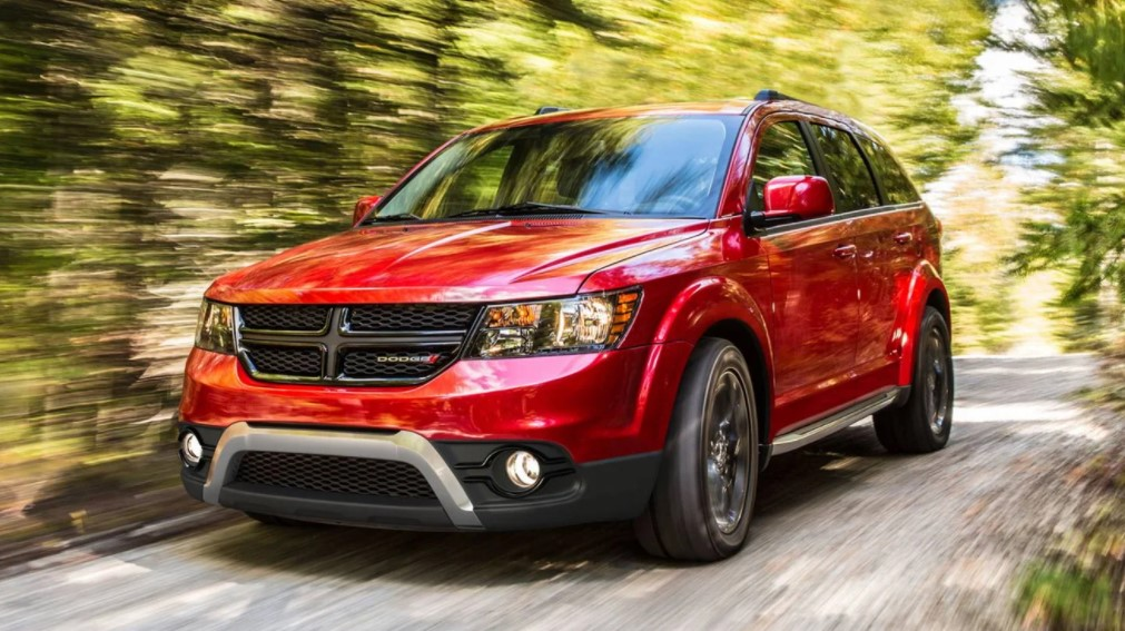 2021 Dodge Journey Powered with new engine system