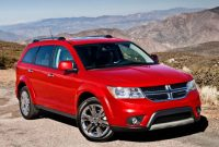 2021 Dodge Journey with new exterior layout
