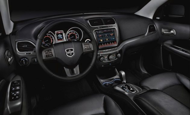 2021 Dodge Journey with new interior layout