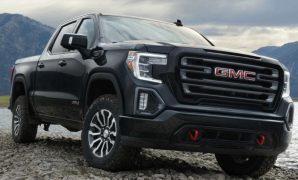 2021 GMC Sierra AT4 with new exterior layout