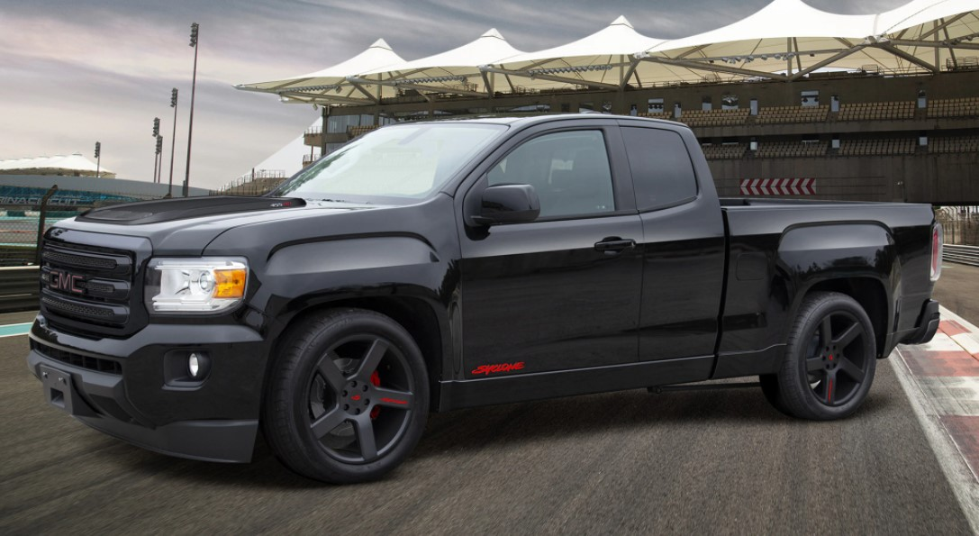 2021 GMC Syclone with new exterior layout