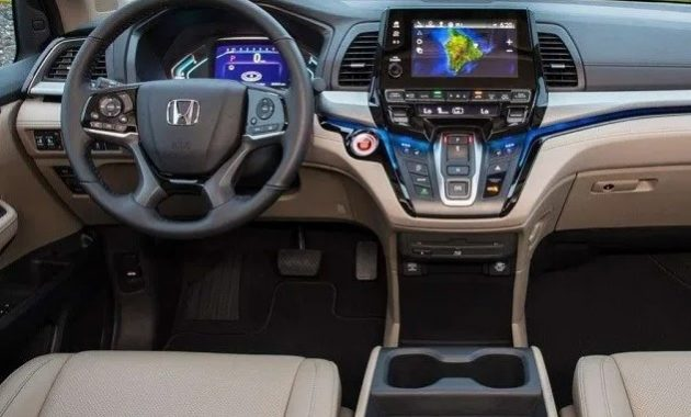 2021 Honda Crosstour Navigation and Security features