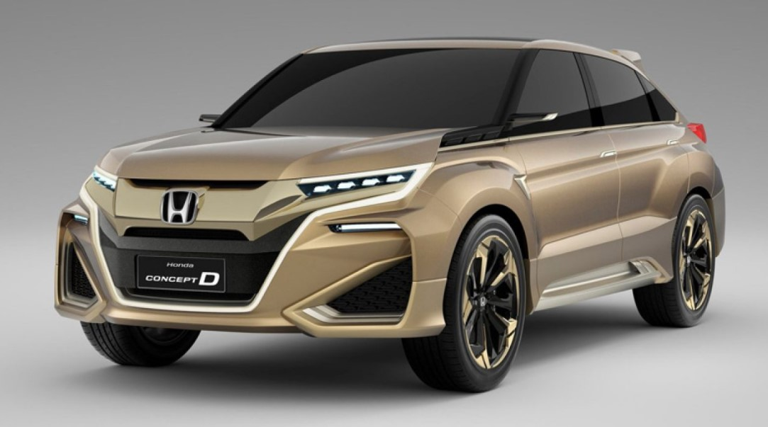 2021 Honda Crosstour Powered with new engine system to make more power