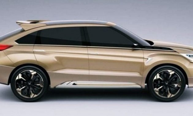2021 Honda Crosstour with new exterior layout
