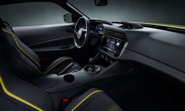 2021 Nissan 400Z with new dashboard
