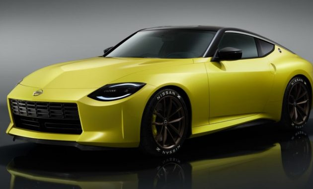 2021 Nissan 400Z with new exterior layout