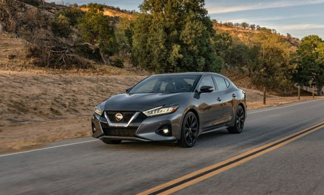 2021 Nissan Maxima with new exterior layout