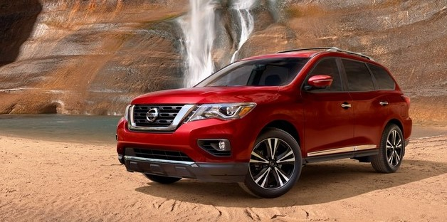 2021 Nissan Pathfinder with new exterior layout