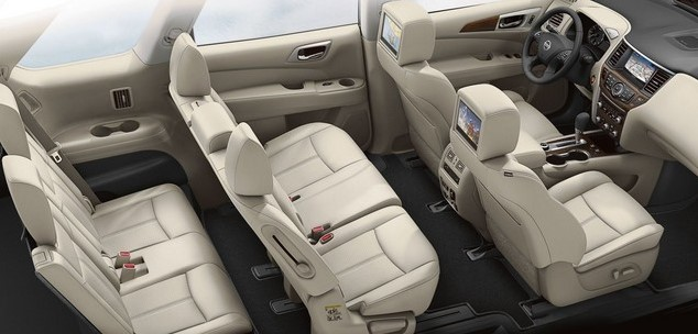 2021 Nissan Pathfinder with new interior layout
