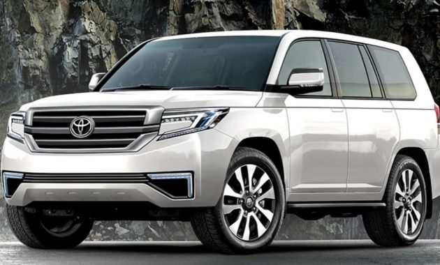 2022 Land Cruiser 300 with new exterior layout
