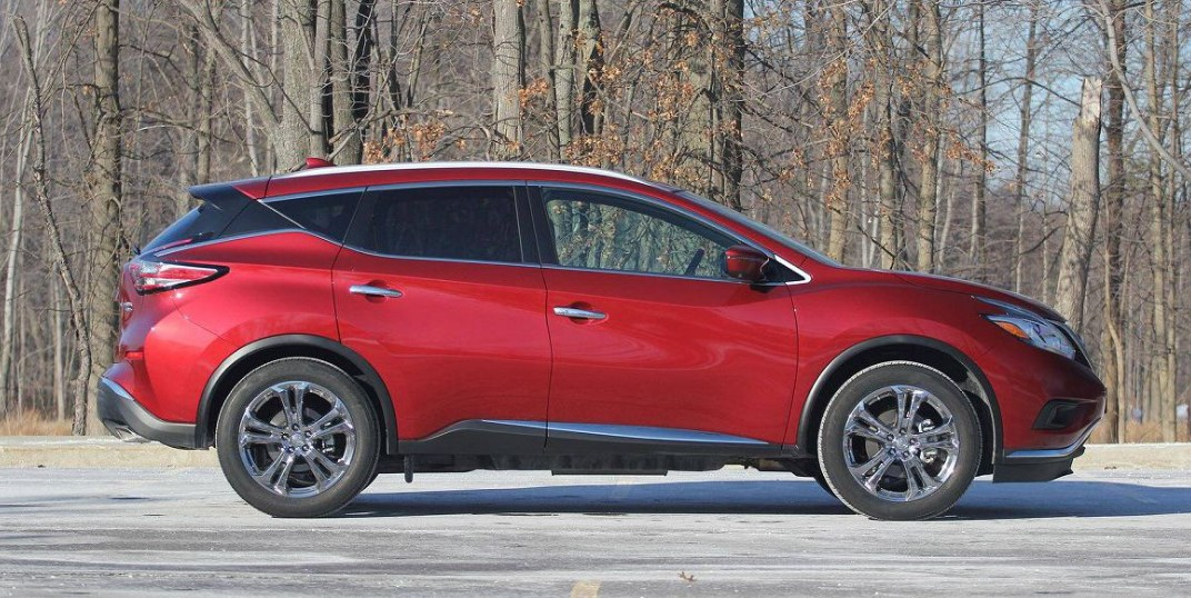 2022 Nissan Murano with new exterior layout