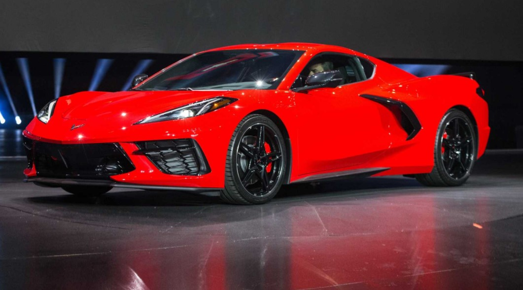 2021 Chevrolet Corvette with new exterior layout