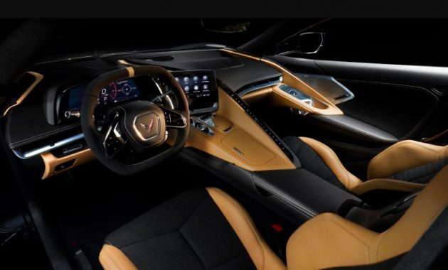 2021 Chevrolet Corvette with new interior layout