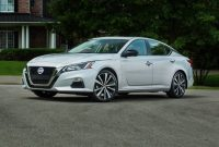 2021 Nissan Altima with new exterior layout