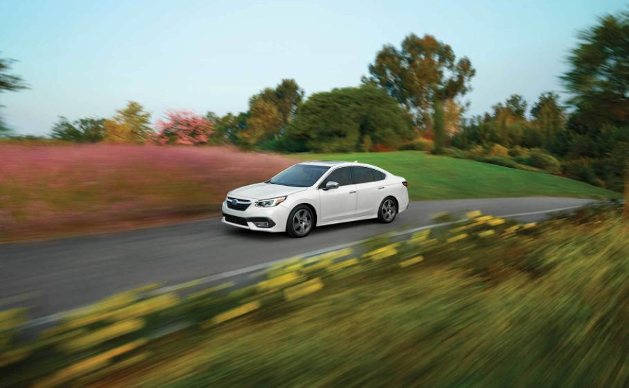 2021 Subaru Legacy has better performance with its new engine