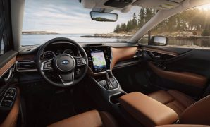 2021 Subaru Outback Dashboard and Interior Features