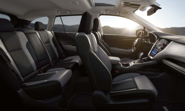 2021 Subaru Outback with new interior layout
