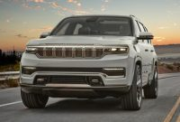 2022 Jeep Wagoneer with new exterior layout