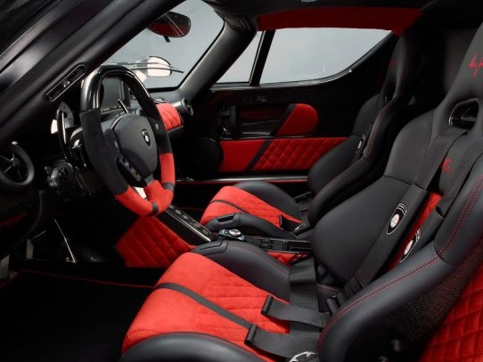 The S2000 Time Attack Racing car Interior
