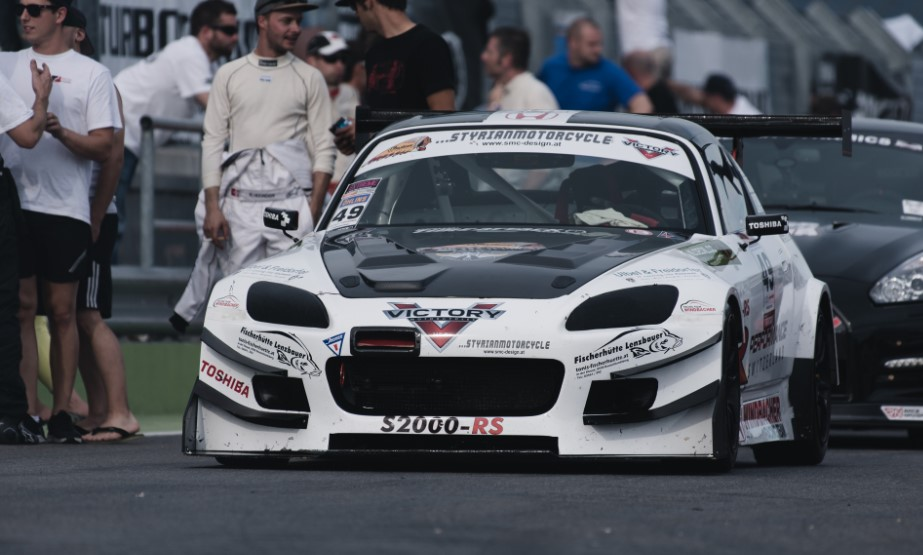 The S2000 Time Attack Racing car